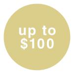 $0-$100
