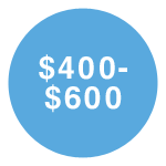 $400-$600