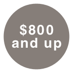 $800+